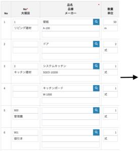 販売管理システム 大項目例1