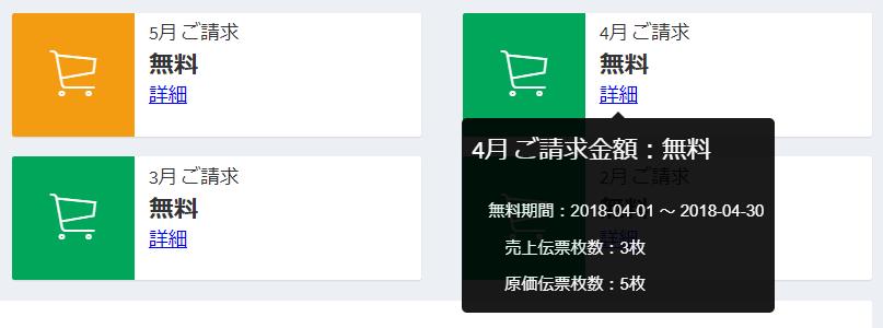販売管理システム ダッシュボード_請求金額