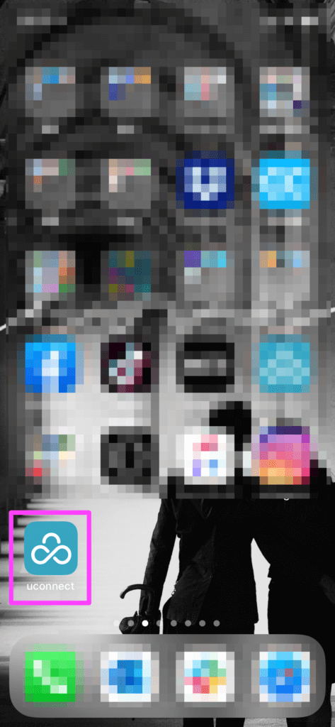 iPhone 粗利管理クラウドをホーム画面へ設定